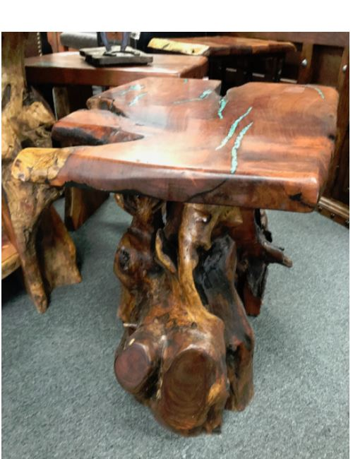 Product image: Mesquite Side Table Root Base