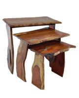Product image: Mesquite Slab Nesting Tables